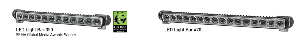 Award-Winning HELLA LED Light Bars