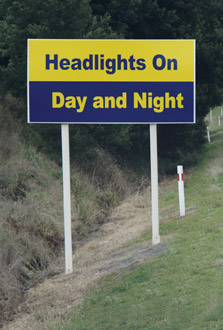 Using your Dipped Beam Headlamps during daylight hours has only a marginal added safety effect