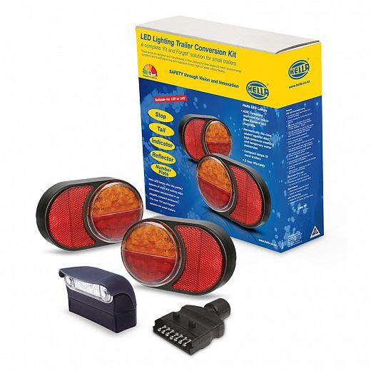83mm round led lighting trailer conversion kit aloadofball Images