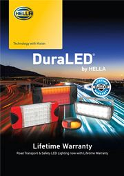HELLA New Zealand DuraLED<sup>®</sup> Lifetime Warranty