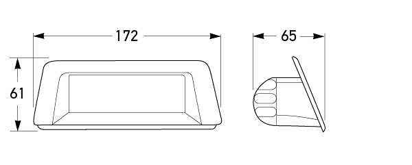 P/N 5239 (Wagon) - All dimensions in mm.