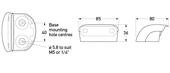P/N 2559 - All dimensions in mm.