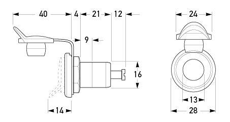 12v accessory plug 12v motorcycle wiring diagram